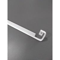 Стикова планка для стільниці LUXEFORM пряма колір RAL9003